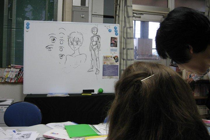Manga Lesson with a Professional Japanese Manga Artist, Tokyo, JAPON