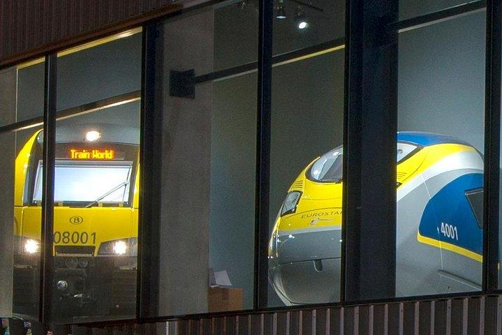 Train World Entrance Ticket, Bruselas, BELGIUM