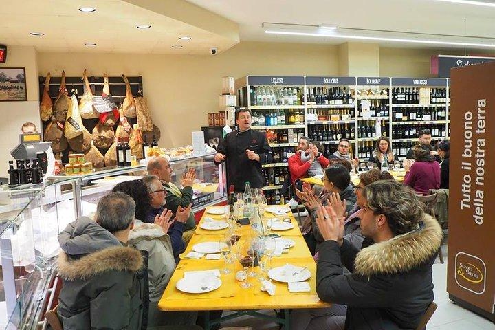 Baci Perugina Chocolate tour and Umbrian food tasting, Perugia, ITALY