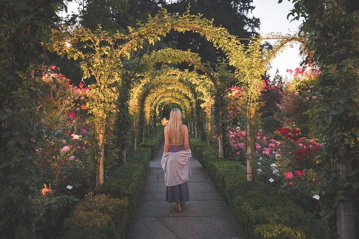 Victoria e os Jardins de Butchart saindo de Vancouver, Vancouver, CANADÁ