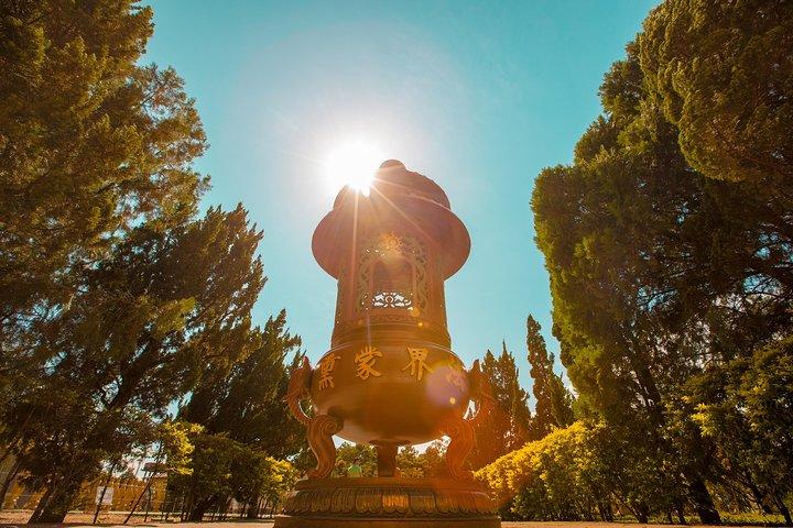 Recorrido por la ciudad con templo budista, mezquita musulmana y Ecomuseo, Puerto Iguazú, ARGENTINA