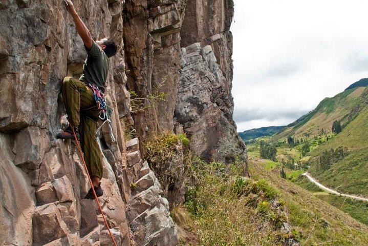 5-Day Rock Climbing Tour in Cojitambo, Paute, Girón, Cajas and Sayausi, Cuenca, ECUADOR