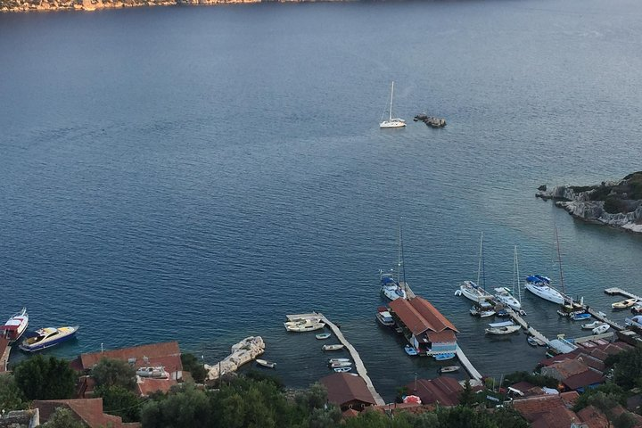Shared Sunken City of Kekova Boat Tour including lunch, Kas, TURQUIA