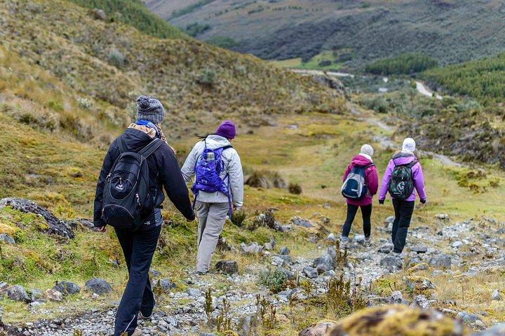 2-Day Trek of the Inca Trail - El Cajas National Park, Cuenca, ECUADOR