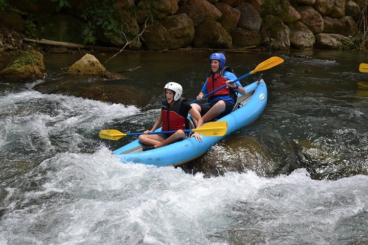 Jungle River Kayaking Adventure Tour from Falmouth, Montego Bay, JAMAICA