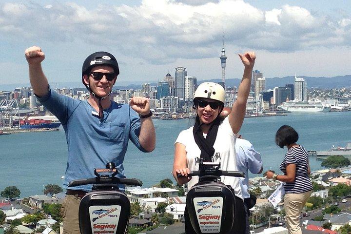 Guided Segway Tour to the summit of Mt Victoria in Devonport Auckland, Isla Waiheke, NOVA ZELÂNDIA