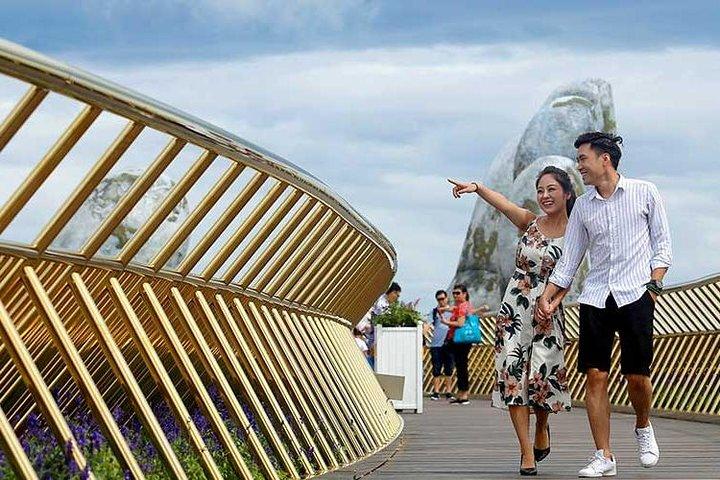 Famous Golden Bridge and Bana Hills Group Full Day Tour from Da Nang City, Da Nang, VIETNAME