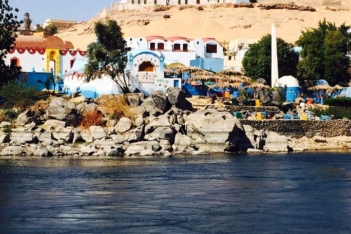 Private Trip to the Nubian Village by Motorboat in Aswan, Guiza, EGIPTO