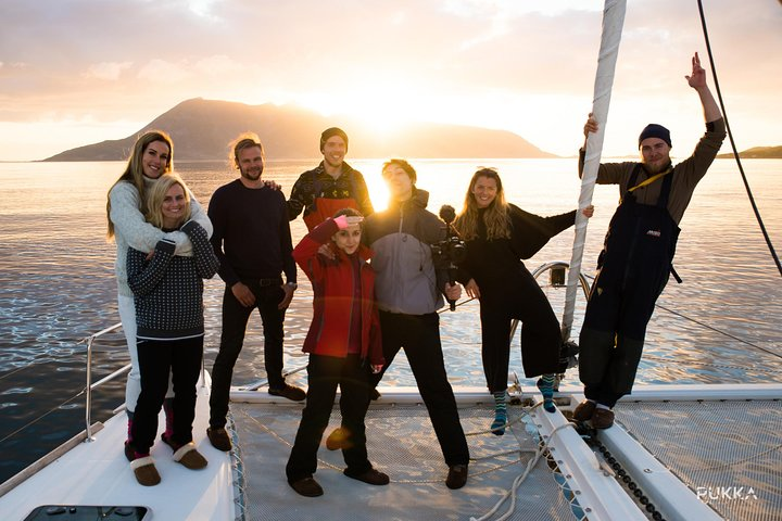 Midnight Sun/Sunset Sailing, Tromso, NORUEGA