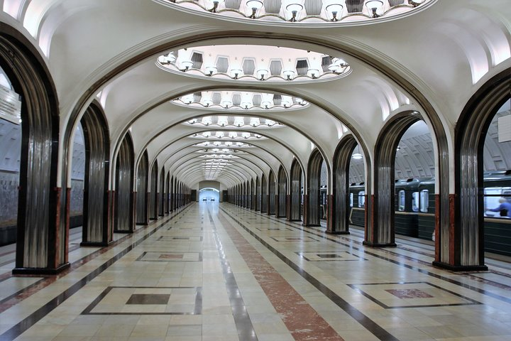 Moscow Metro and Red Square, Moscovo, RÚSSIA