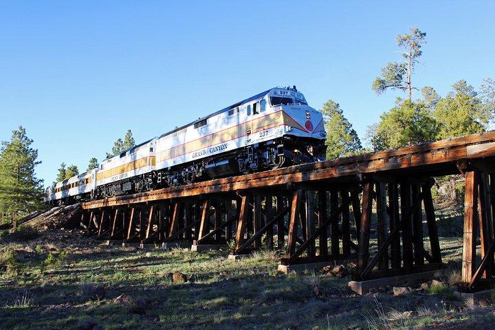 Excursión en tren por el Gran Cañón, Flagstaff, AZ, ESTADOS UNIDOS