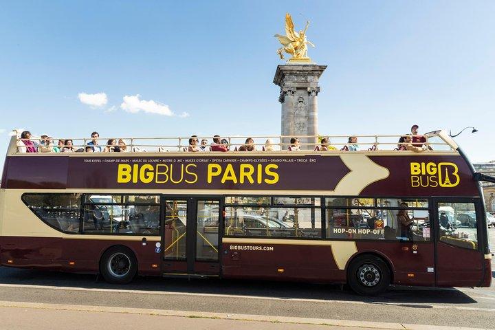 Excursão em ônibus panorâmico Big Bus por Paris, Paris, França