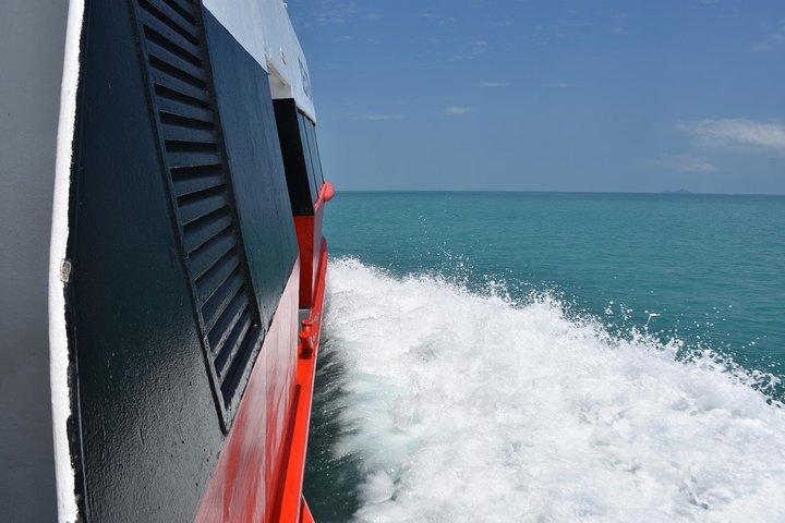 Koh Tao to Surat Thani Don Sak Pier by Seatran Discovery Ferry, Ko Tao, TAILANDIA