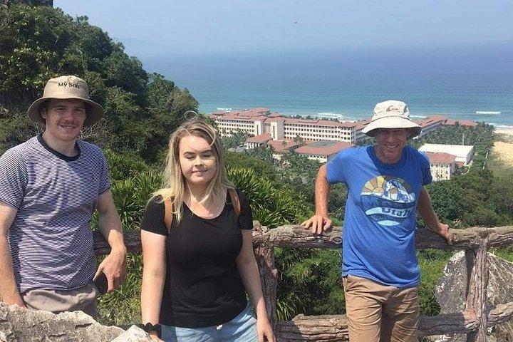 MARBLE MOUNTAINS ,MONKEY MOUNTAINS & DRAGON BRIDGE with DA NANG NIGHTLIFE TOUR, Da Nang, VIETNAM