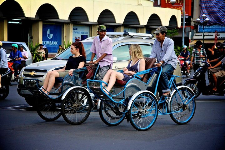 Ho Chi minh Cyclo City View, Ho Chi Minh, VIETNAME