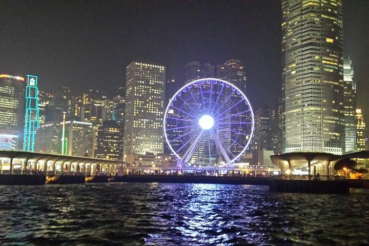 Hong Kong Sunset Cruise plus Dinner at the Jumbo Floating Restaurant, Hong Kong, CHINA