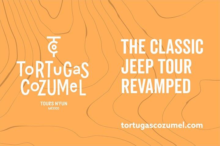 El Jeep Tour Original Renovado por Tortugas Cozumel (Privado), Cozumel, MEXICO