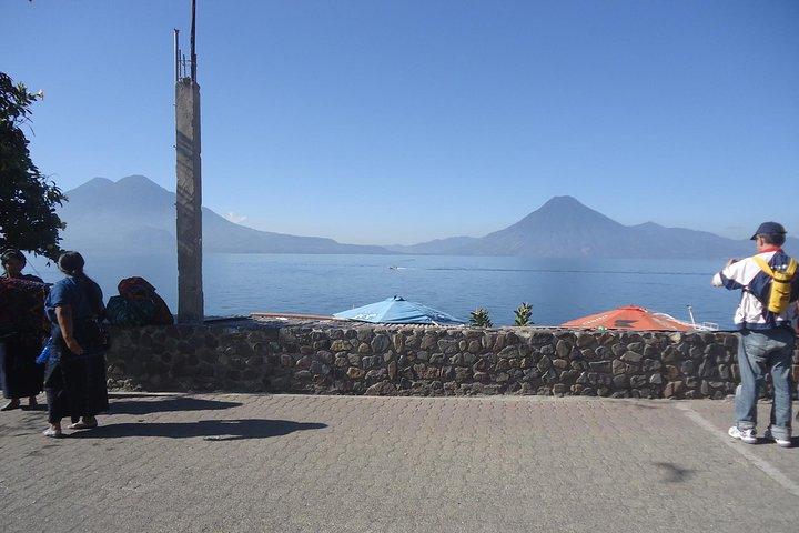 Lake Atitlan Boat tour from Puerto Quetzal, San Pedro La Laguna, GUATEMALA