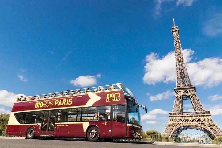Big Bus Paris Hop-On Hop-Off Tour, Paris, FRANCE