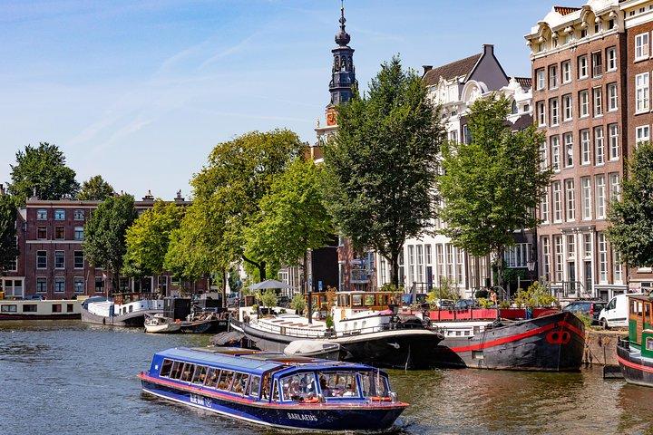 Blue Boat Company Amsterdam City Canal Cruise, Amsterdam, HOLANDA