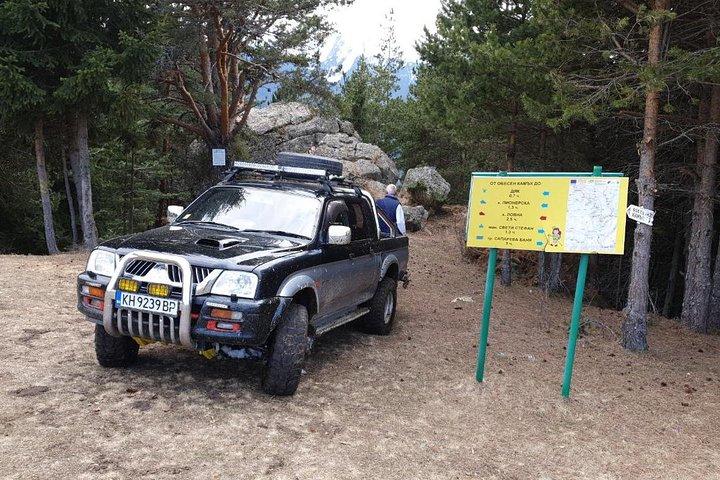 Private Jeep Safari in the Rila Mountains, Borovets, BULGARIA