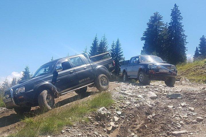 Private & Tremendous Jeep Safari to the Seven Rila Lakes, Borovets, BULGARIA