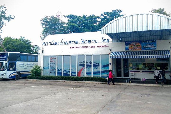 Surat Thani Town to Koh Phangan by Shared Minivan and Seatran Discovery Ferry, Surat Thani, Tailândia