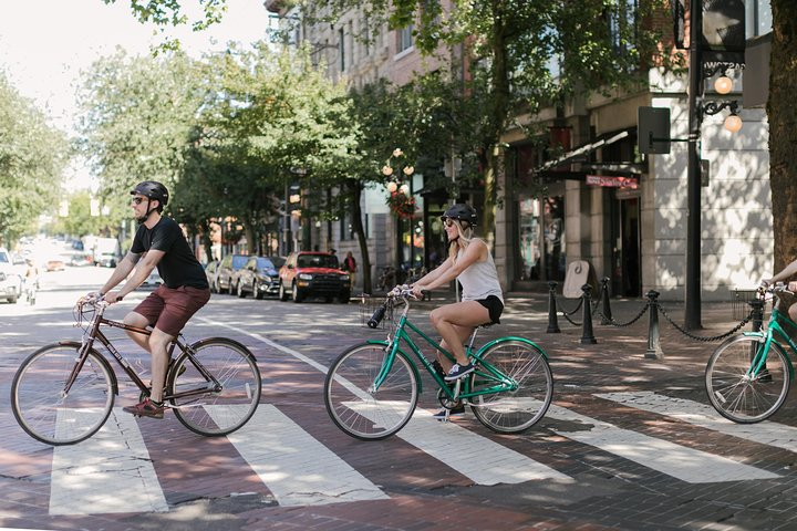 Excursão independente de bicicleta em Vancouver, Vancouver, CANADÁ
