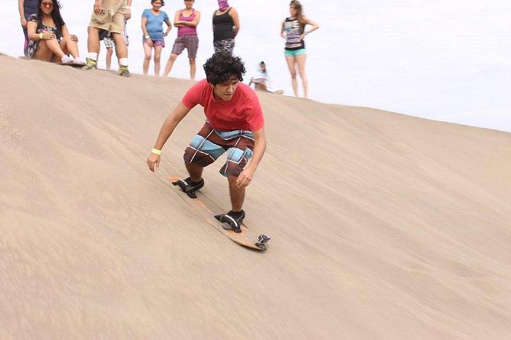 Sandboarding and Snorkel in Chachalacas Beach, Veracruz, MEXICO