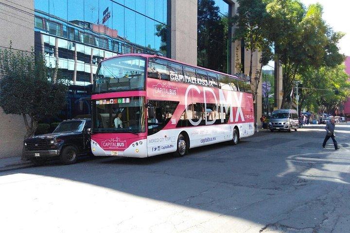 Hop on Hop off Mexico City Bus tour, Ciudad de Mexico, Mexico