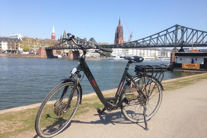 Discover Frankfurt with our unique E-Bikes, Frankfurt, GERMANY