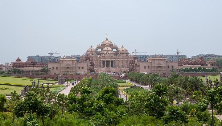Akshardham Temple Evening Tour with Musical Fountain Show, Nueva Delhi, Índia