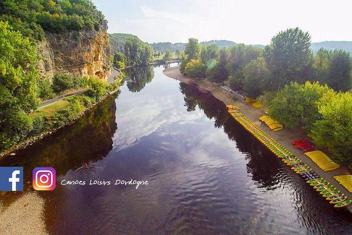 La vallée de la Dordogne en canoë, Bergerac, FRANCIA