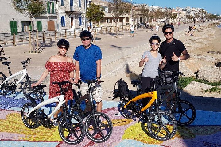 Recorrido de 3 horas en bicicleta eléctrica en Palma de Mallorca, Mallorca, ESPAÑA