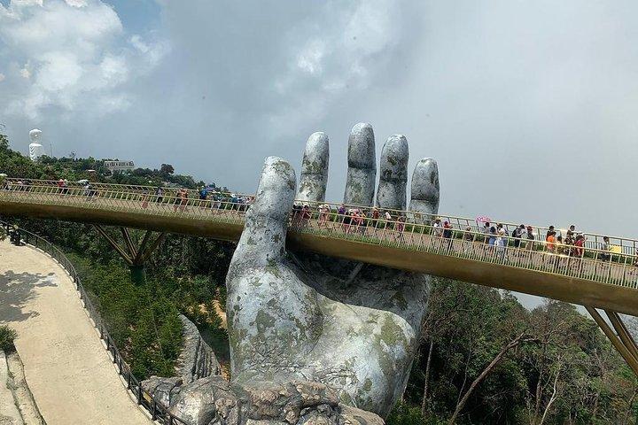 BA NA HILL, GOLDEN BRIDGE,FRENCH VILLAGE via CABLE CAR from DA NANG or HOI AN, ,