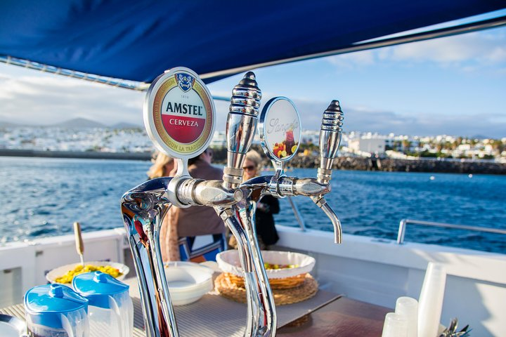 Lanzarote's Best Sunset Cruise With Drinks, Canapes, Champagne Welcome & Music, Arrecife, Spain