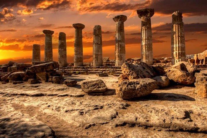 Private Agrigento & Scale of the Turks Tour, from Catania, Taormina & Siracusa, Catania, ITALIA