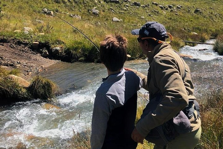 Fly Fishing on Private Andean River Including Barbecue Lunch, ,