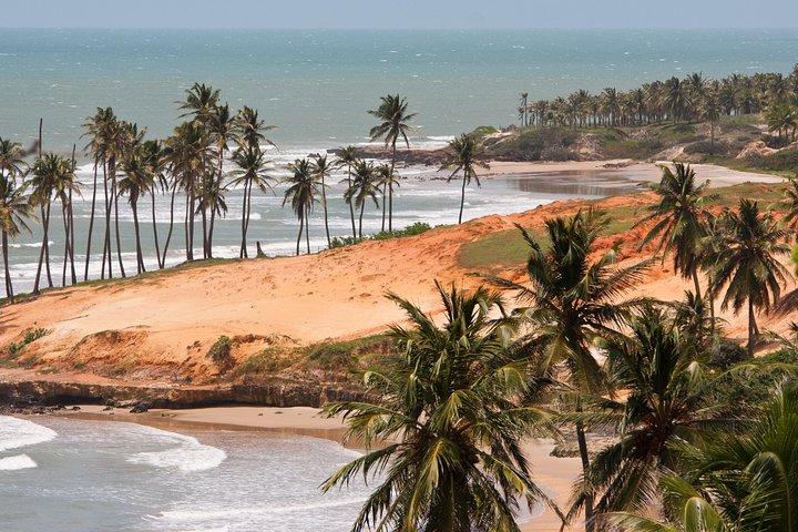 Excursion a Playa de Lagoinha, Fortaleza, BRASIL