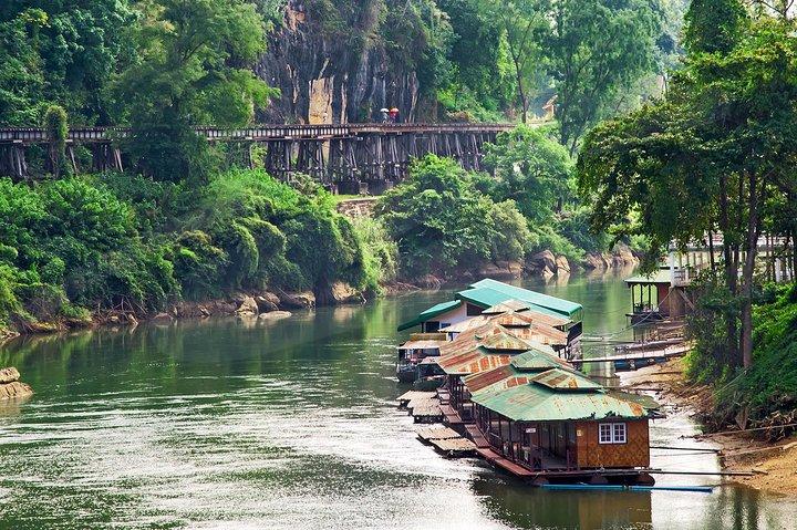 Bridge on the River Kwai and Thailand-Burma Railway Tour, Hua Hin, Tailândia