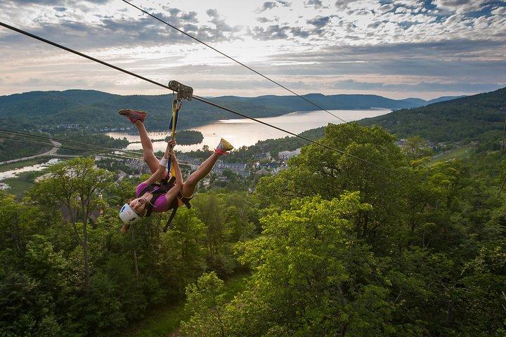 Guided Zipline Tour in Mont Tremblant, Mont-Tremblant, CANADÁ