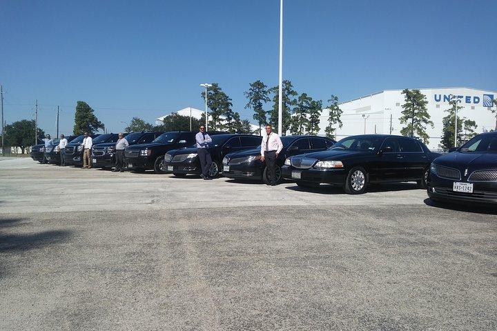 Round Trip Black SUV Car Houston - Galveston, IAH Airport -Galveston, Houston, TX, ESTADOS UNIDOS