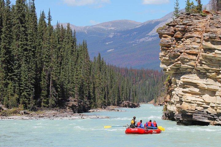 Athabasca Canyon Run Family Rafting: Class II Plus Rapids, Jasper, CANADA