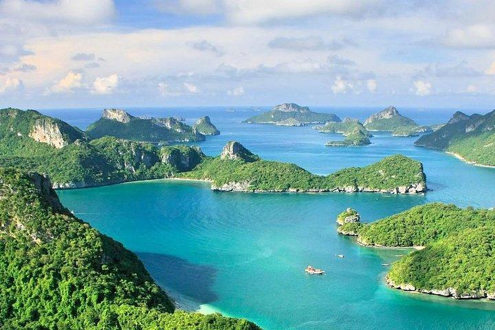 Ko Samui Angthong Marine Park Full Day Tour with Snorkeling & Sea Kayaking, Koh Samui, Thailand