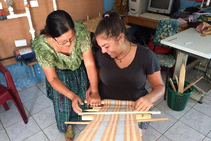 Teixchel Weaving Workshop, San Pedro La Laguna, GUATEMALA