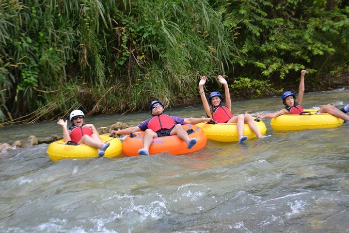 Shared - Jungle River Tubing Adventure Tour from Falmouth, Montego Bay, JAMAICA