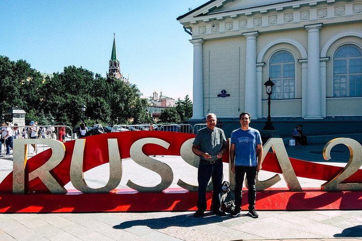 Private Layover Moscow Tour with a Transfer and a Local Guide, Moscu, RUSIA