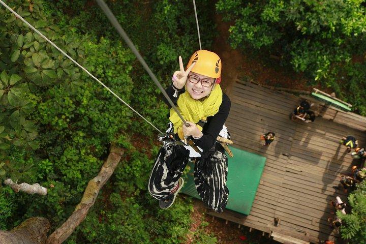 Chiang Mai Zip Line Experience, Chiang Mai, Tailândia