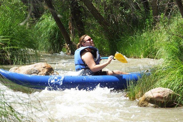 Inflatable Kayak Adventure from Camp Verde, Flagstaff, AZ, ESTADOS UNIDOS
