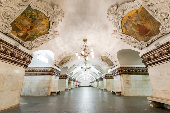 Metro Tour and Moscow River Cruise, Moscovo, RÚSSIA